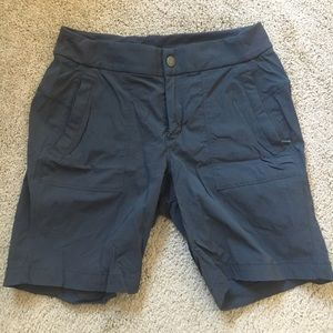 Athleta gray shorts size 10, hiking quick dry